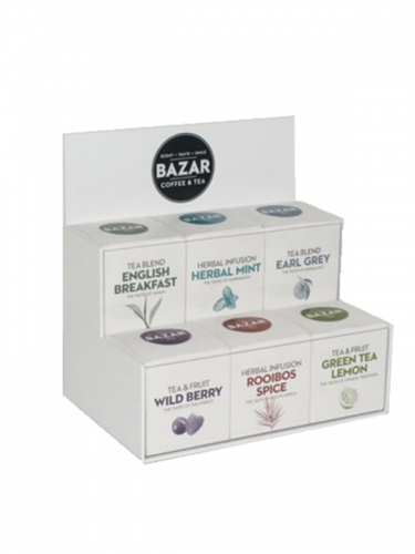 TN93 - Bazar Thee display
